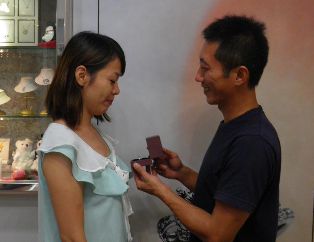 【浪漫求婚】台中金時代銀樓-精時代CHINSTYLE鑽石