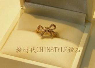 精時代CHINSTYLE『18K玫瑰金鑽戒-金時代珠寶設計|精時代CHINSTYLE 鑽石 婚戒 金飾