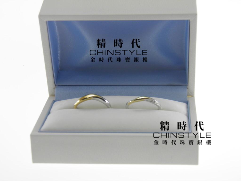1.Wu Ting-Xuan & Crystal Liu結婚指輪(マリッジリング)