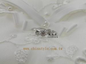 台中漢口路金時代珠寶精時代CHINSTYLE鑽石 engagement wedding band ring